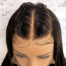 180% Density 13x6 Deep Part Pre-Made Fake Scalp! BOB Lace Front Human Hair Wigs