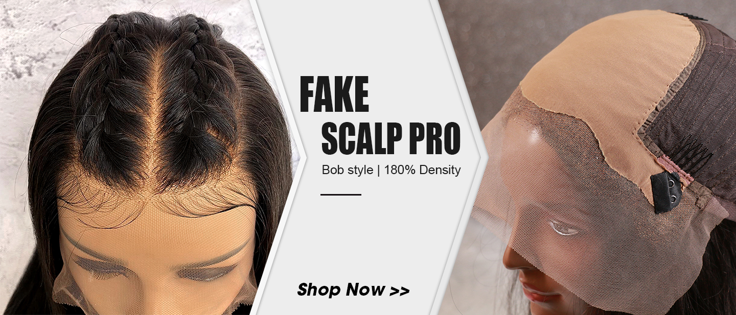 Fake Scalp Wig