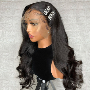 130% 180% 13*4 Loose Wave Lace Front Wig 8-30inch Free Shipping Medium Brown & Transparent Lace Available