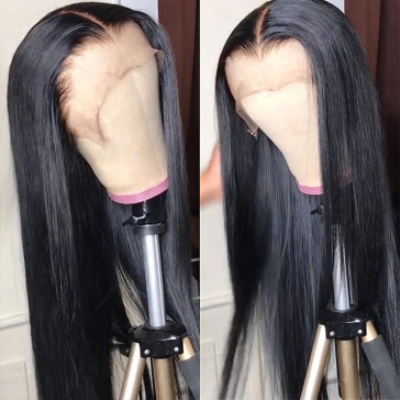 13*4 HD Lace Wig Straight Lace Front Human Hair Wigs 180% density