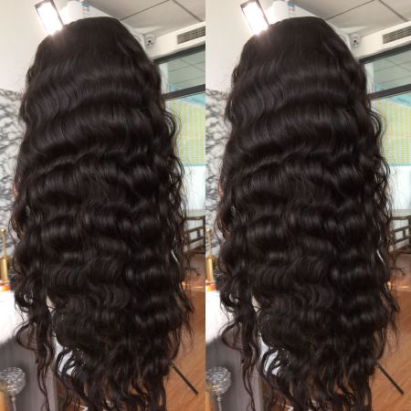 13*4 Body Wave Lace Front Wig Free Shipping Medium Brown & Transparent Lace Available