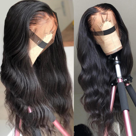 13*4 Body Wave Lace Front Wig 8-30inch Free Shipping Medium Brown & Transparent Lace Available